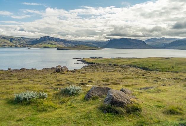 Crisscross around Hvalfjordur