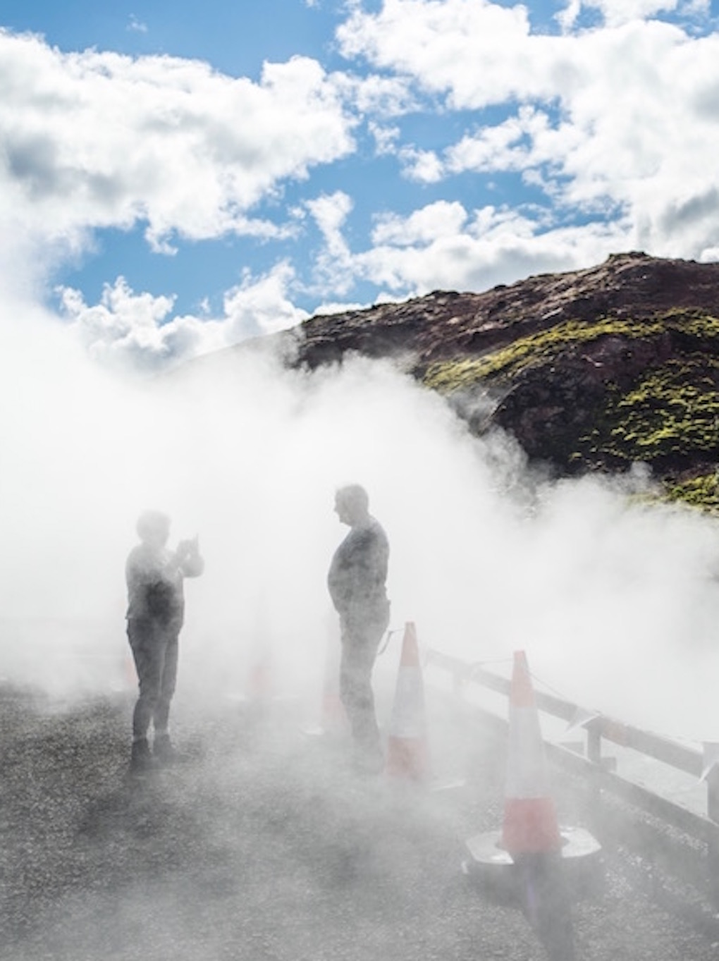 Deildartunguhver hot spring - off the beaten track in Iceland
