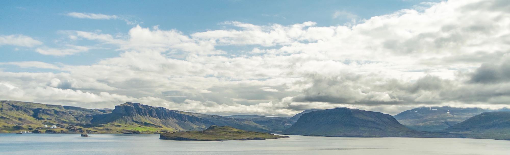 Hvalfjordur mountains
