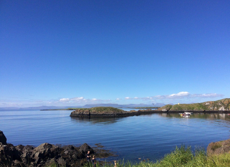 Flatey islandi in Breidafjordur Bay