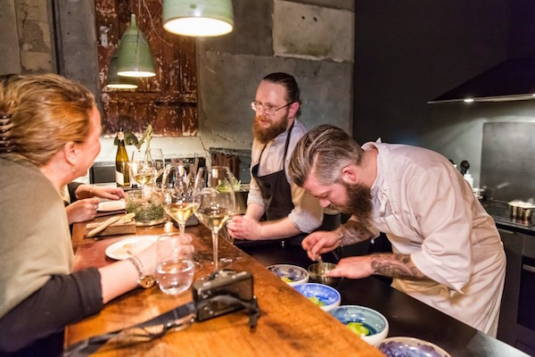 Dill restaurant guest chef at Food and fun in Reykjavik