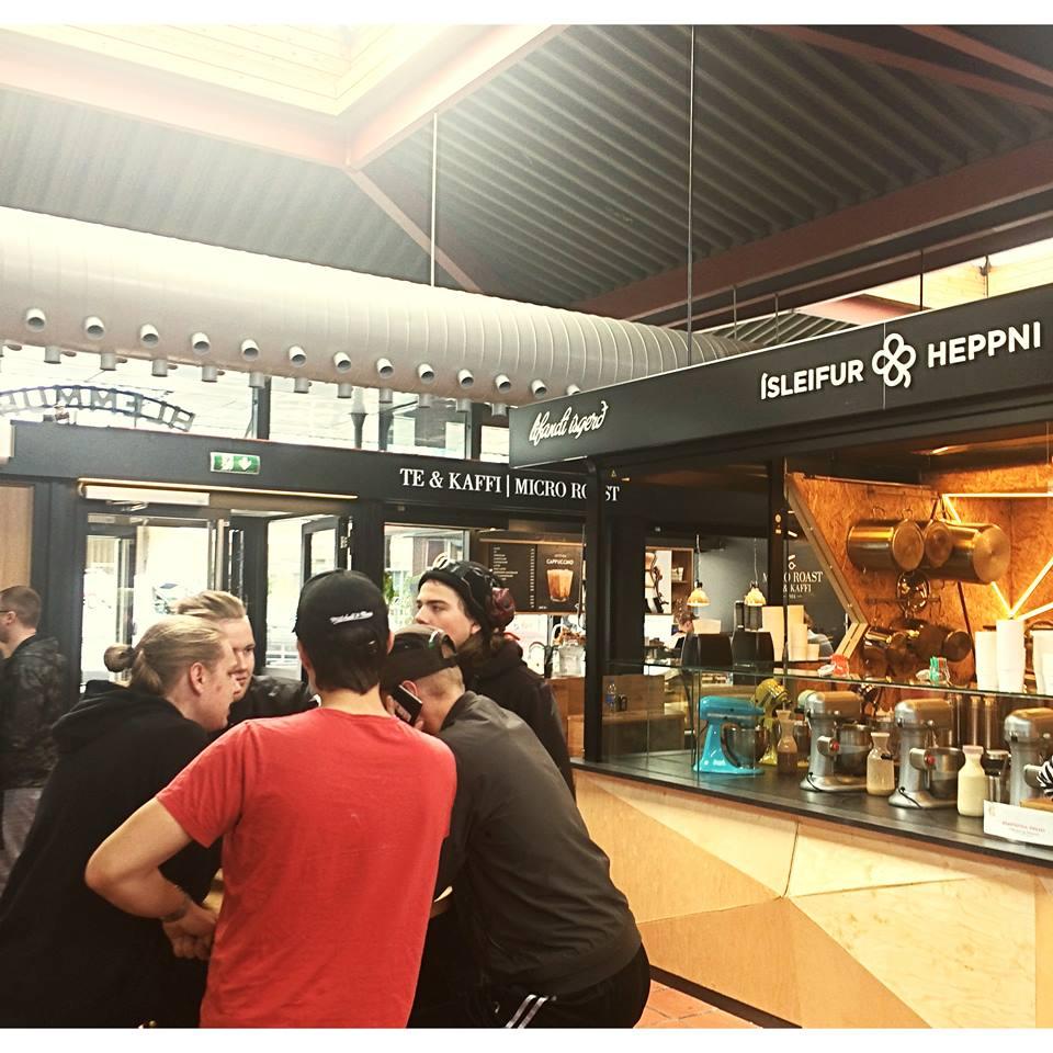 Hlemmur Square Food hall
