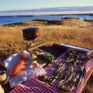 Food and Icelandic Nature